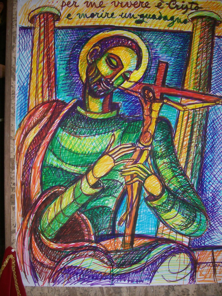 un image de Paul, d'une paroisse:
